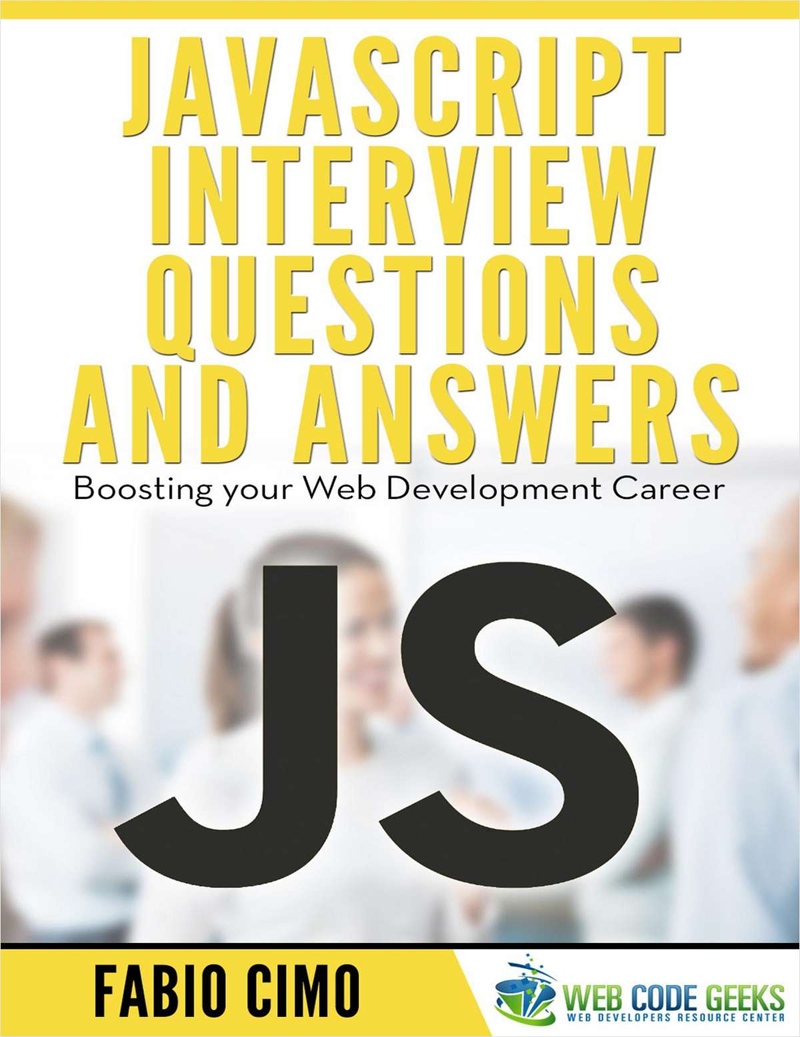 JavaScript Interview Questions and Answers Screenshot