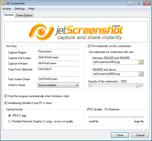 Jet Screenshot, Design, Photo & Graphics Software Screenshot