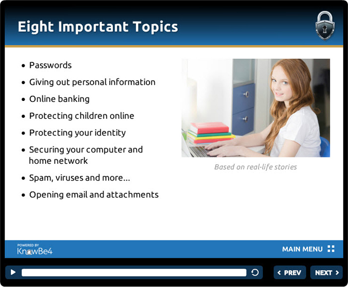 Kevin Mitnick Home Internet Security Course, Security Software Screenshot
