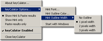 keyCulator, Productivity Software Screenshot
