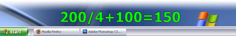 keyCulator, Calculator Software Screenshot