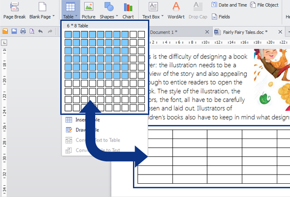 Word Processing Software Screenshot