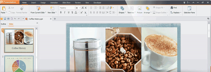 Word Processing Software, WPS Office 2016 (1 Year License) Screenshot