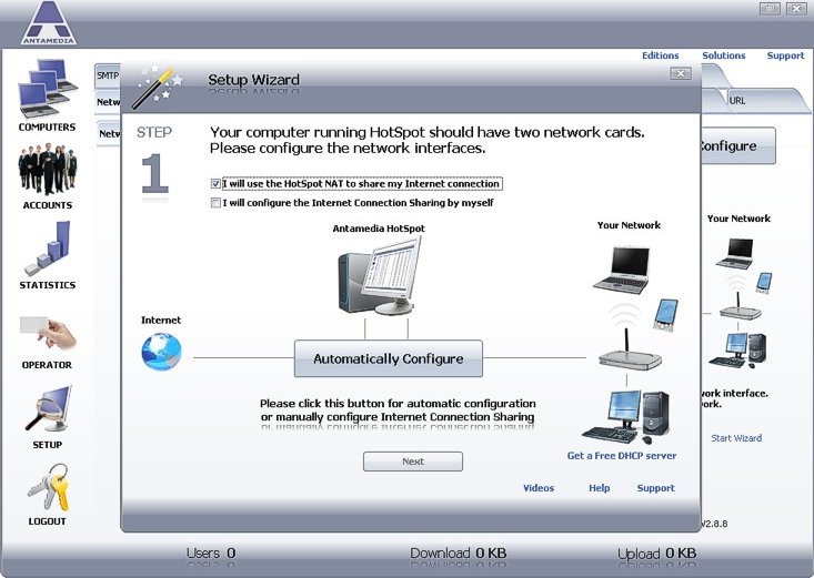 Hotspot Software - Access Restriction Software - 20% off for PC