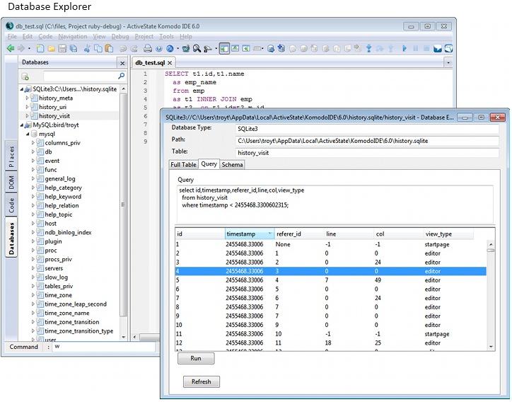 Komodo IDE, Development Software Screenshot