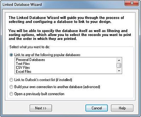 Label Creation Software, Label Designer Plus DELUXE Screenshot