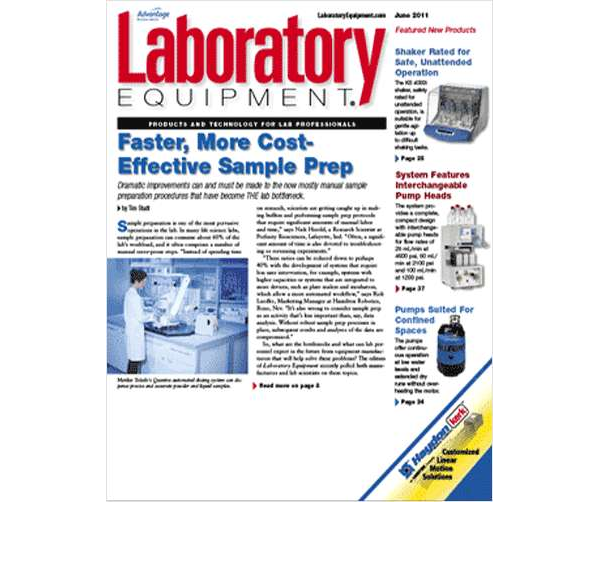 Laboratory Equipment Screenshot