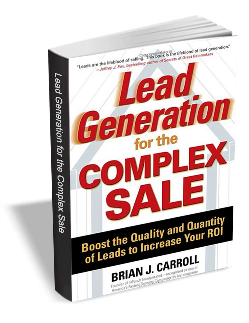 Lead Generation for the Complex Sale - Chapter 3 Screenshot