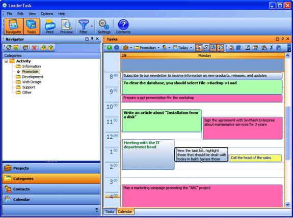 LeaderTask Screenshot