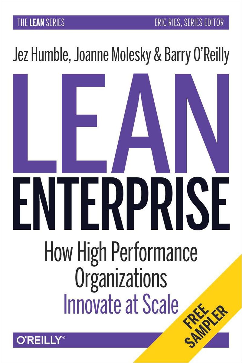 Lean Enterprise: How High Performance Organizations Innovate at Scale Screenshot