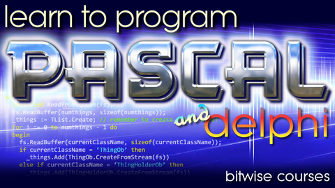 Learn To Program Pascal (and Delphi) Screenshot