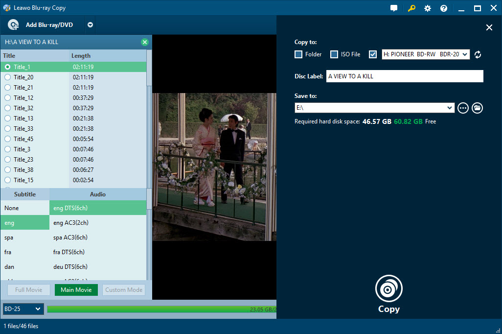 DVD Copy Software Screenshot