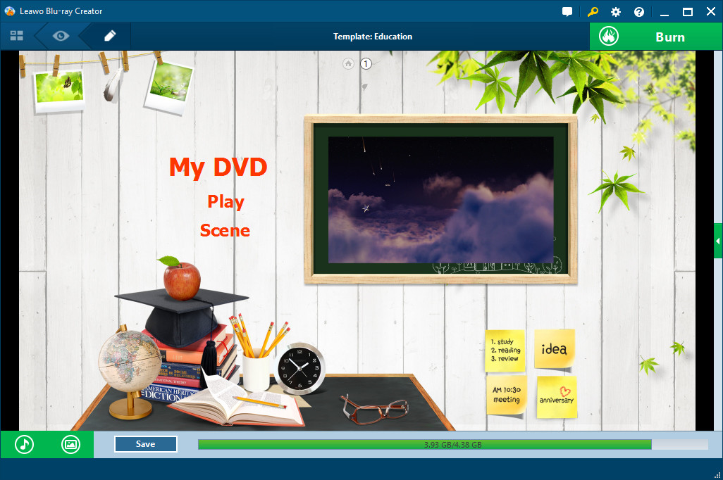 Video Software, Leawo Blu-ray Creator Screenshot