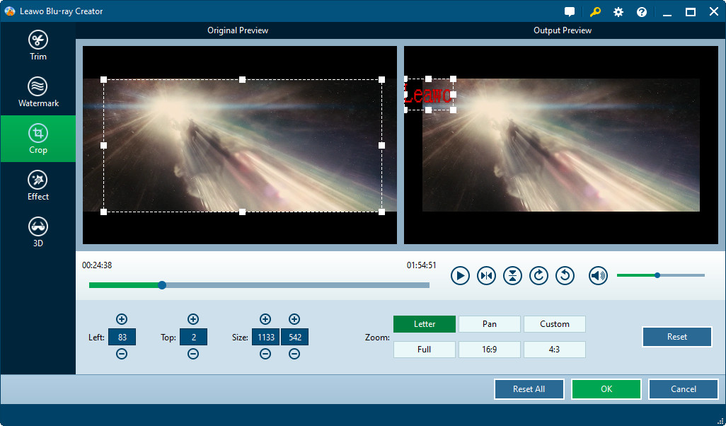 Video Converter Software, Leawo Blu-ray Creator Screenshot