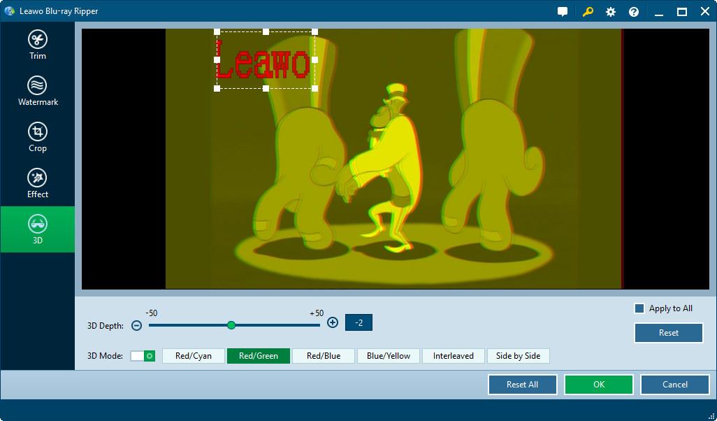 DVD Ripper Software, Leawo Blu-ray Ripper Screenshot