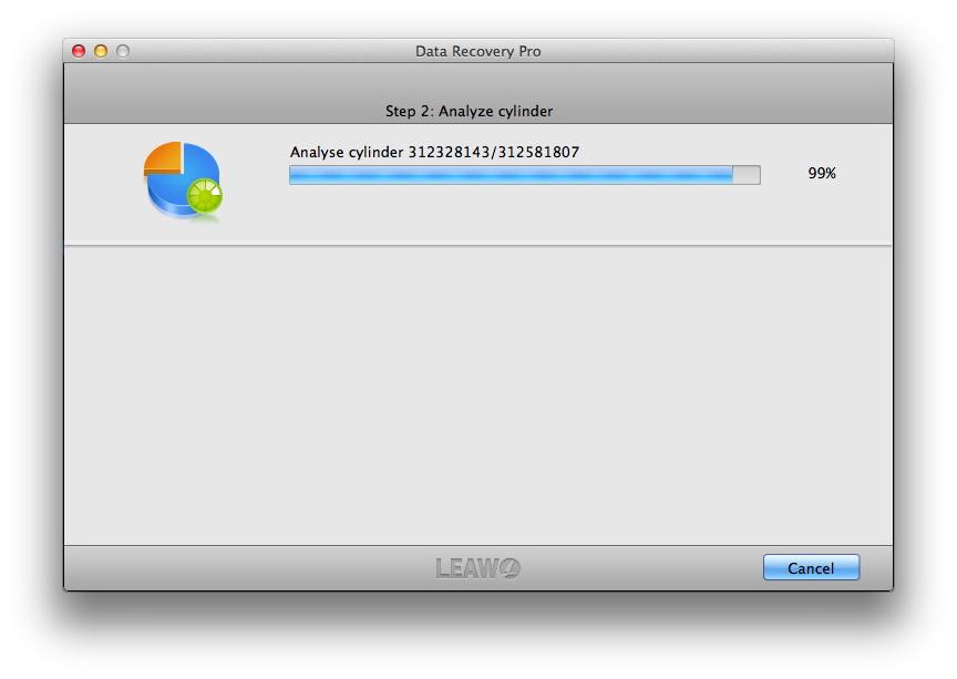 Leawo Data Recovery for Mac, Software Utilities Screenshot