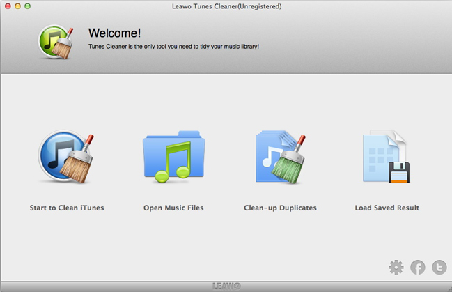 Software Utilities, Leawo Tunes Cleaner Win & Mac Screenshot