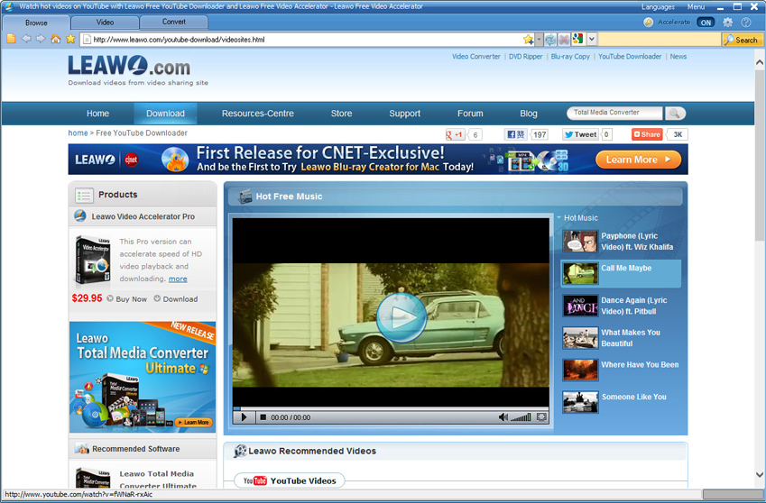 Leawo Video Accelerator Pro Screenshot