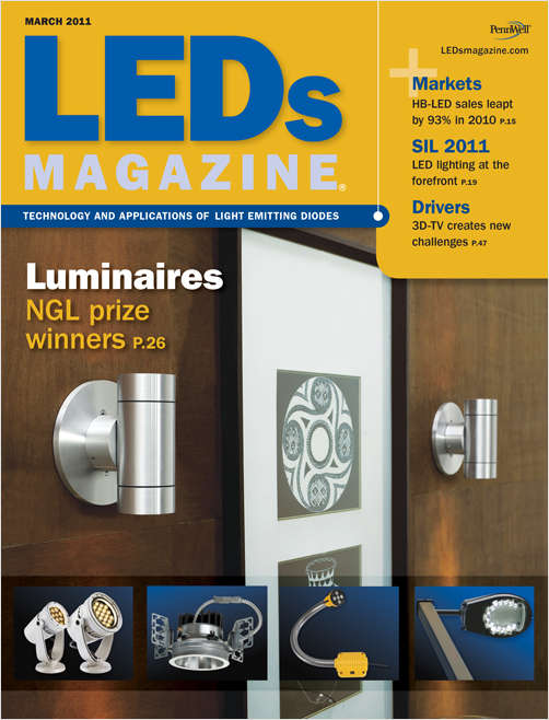 LEDs Magazine Screenshot