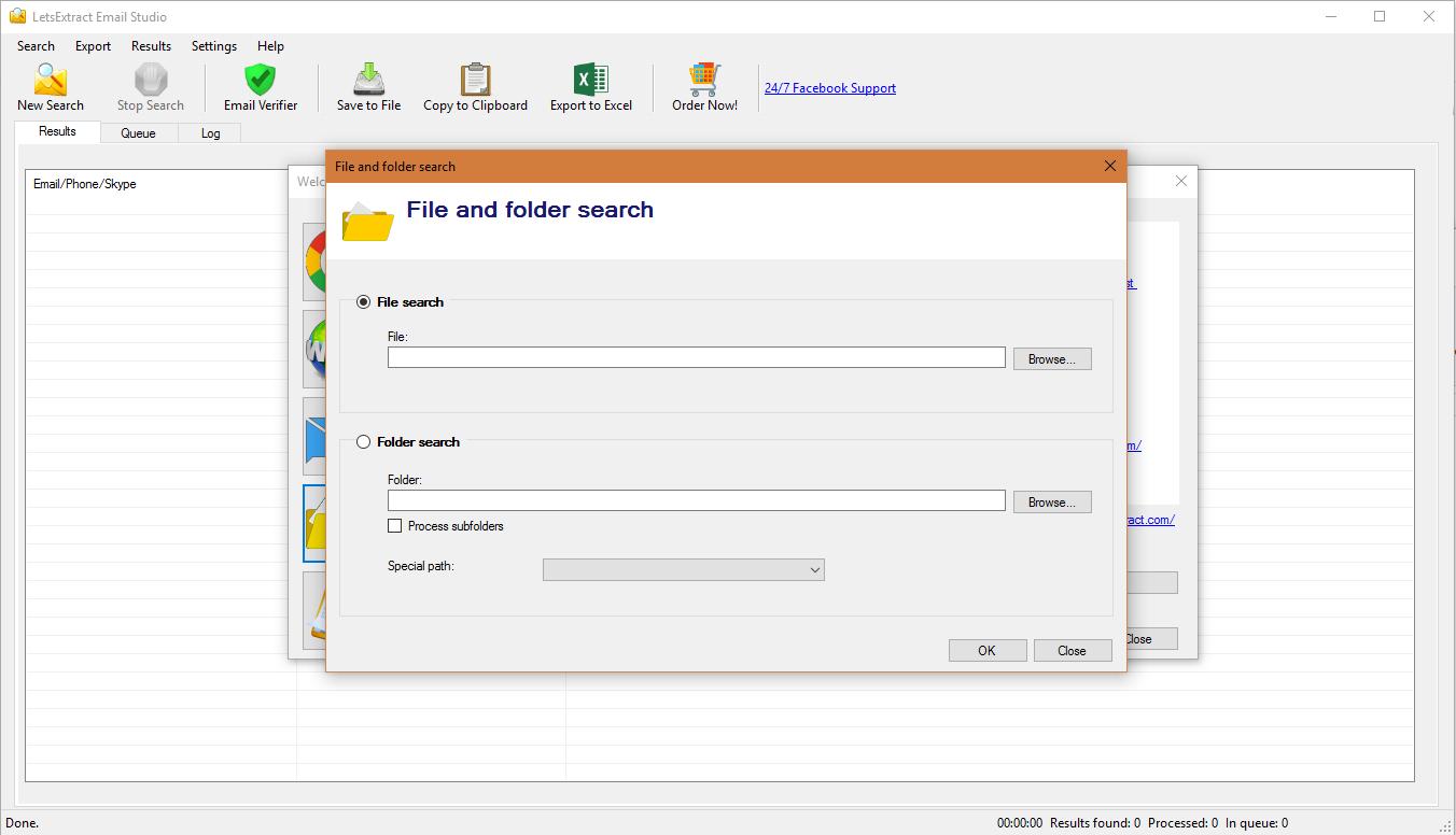 LetsExtract Email Studio Screenshot 9