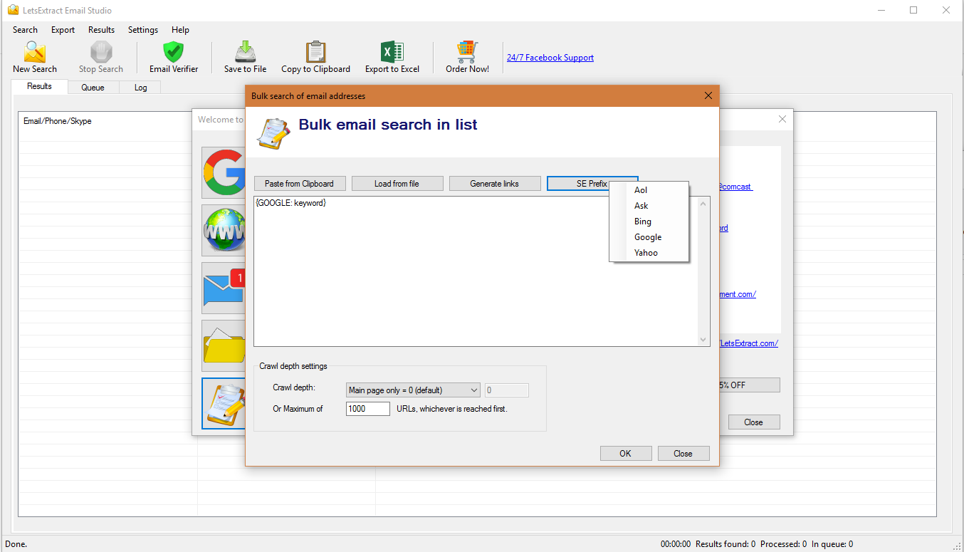 LetsExtract Email Studio Screenshot 10