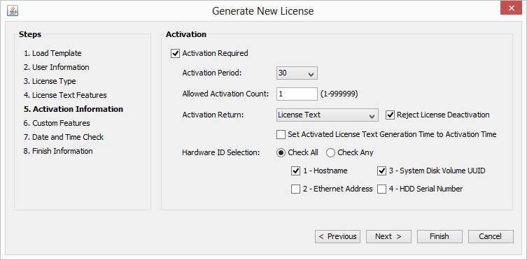 License4J License Manager, Software License Software Screenshot