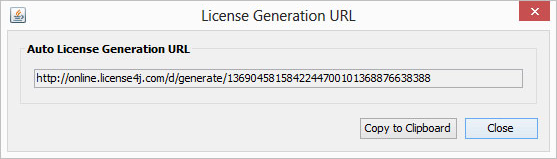 License4J License Manager Screenshot 8