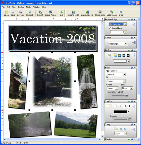 Life Poster Maker, Misc & Fun Graphics Software Screenshot