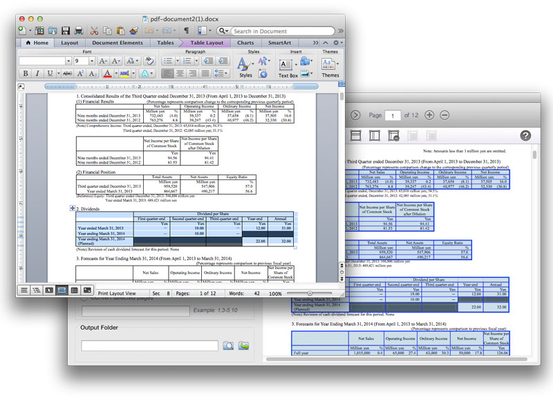 PDF Conversion Software Screenshot