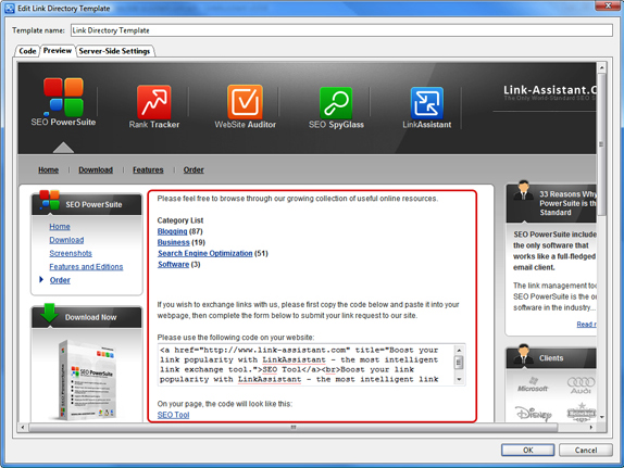 LinkAssistant Screenshot 8