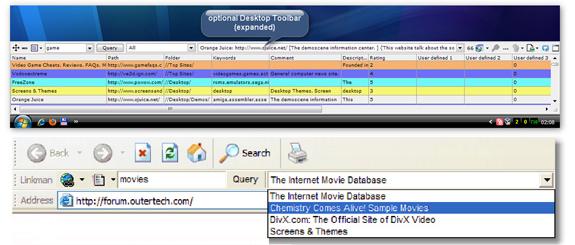 Linkman Pro (2 Computer License), Internet Software Screenshot