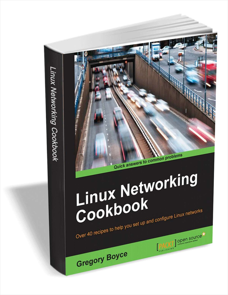 Linux Networking Cookbook ($17 Value) FREE For a Limited Time Screenshot