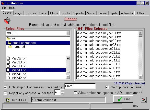 ListMate Pro Screenshot