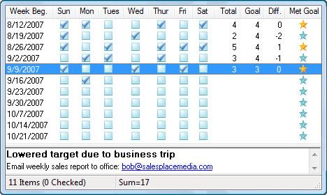 ListPro, To-Do List Software Screenshot