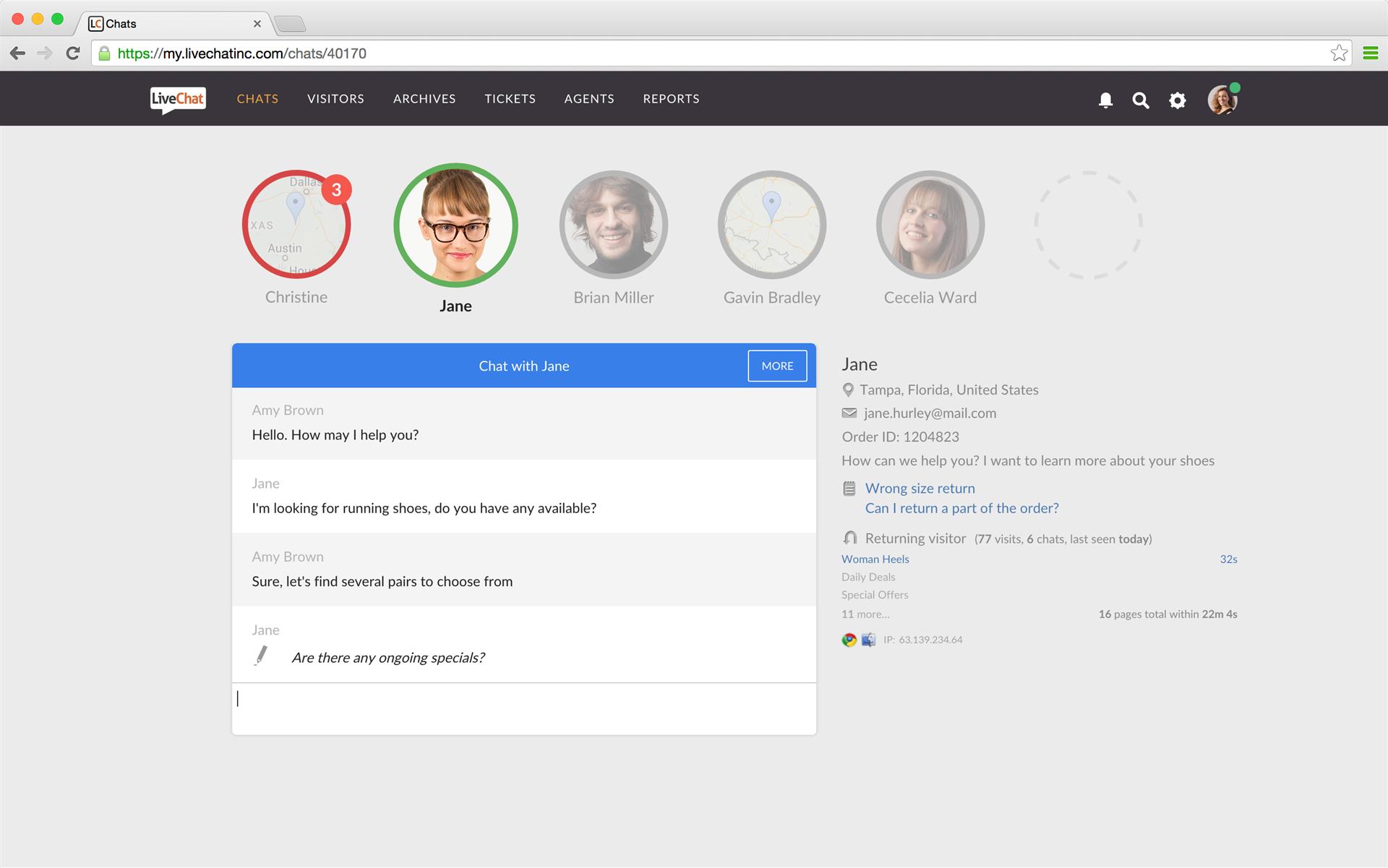 Business Management Software Screenshot