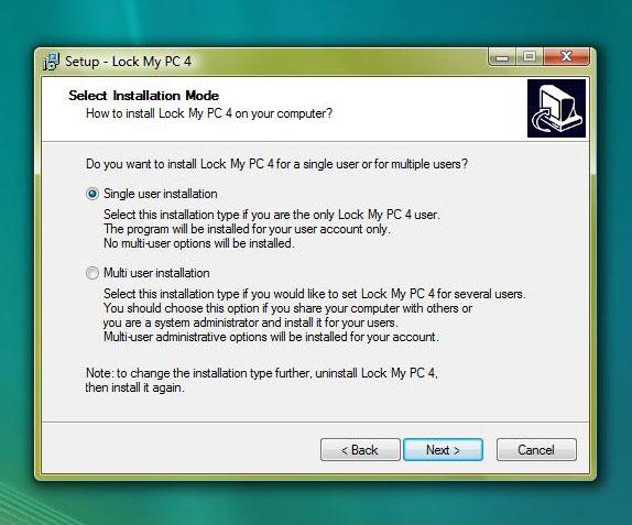Lock My PC Screenshot