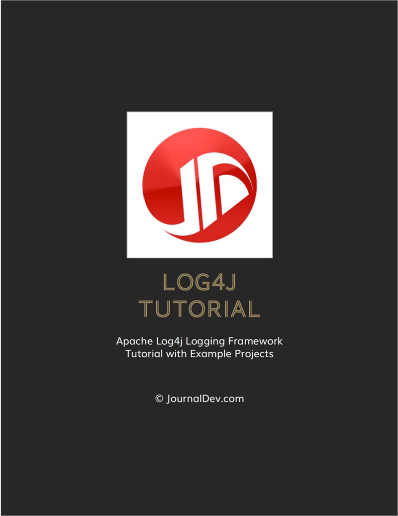 Log4j Tutorial Screenshot