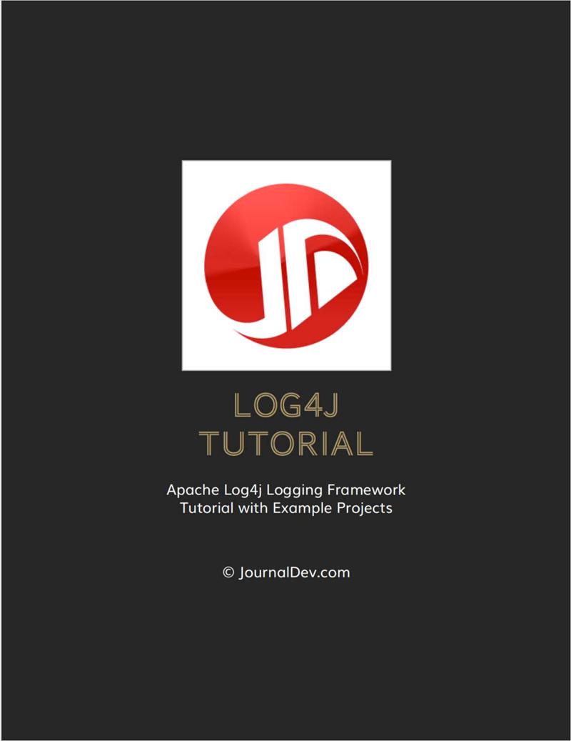 Log4j Tutorial Screenshot