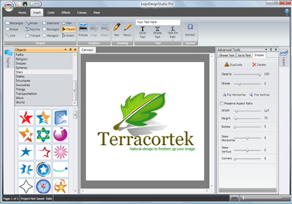 Logo Design Studio Pro Vector Screenshot