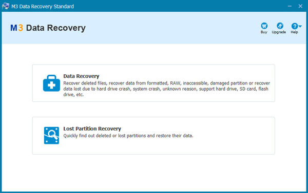 M3 Data Recovery Standard Screenshot
