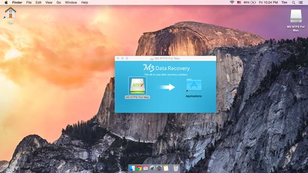 M3 NTFS for Mac Screenshot