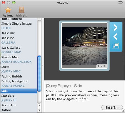Website Builder Software, Mac WebsiteCreator Screenshot