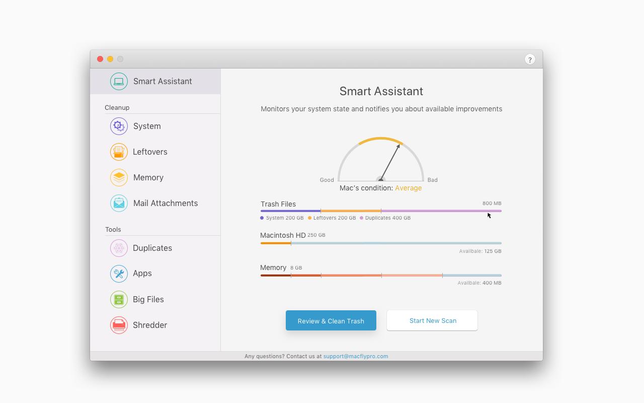 MacFly Pro, Software Utilities Screenshot