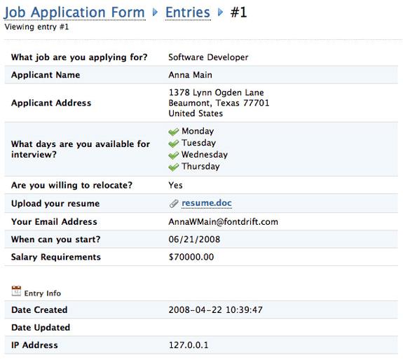 MachForm 2, Development Software, HTML Form Software Screenshot