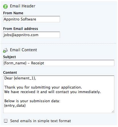 Development Software, HTML Form Software Screenshot