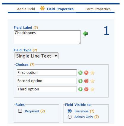 HTML Form Software Screenshot