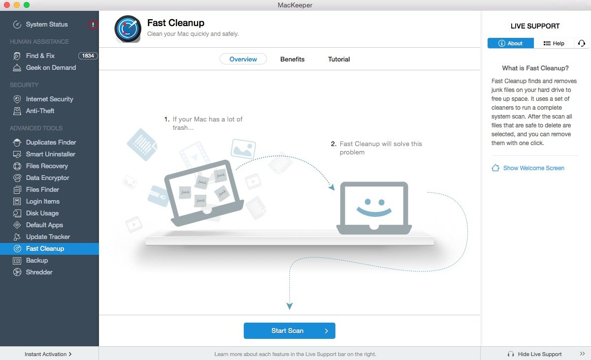 General Security Software Screenshot