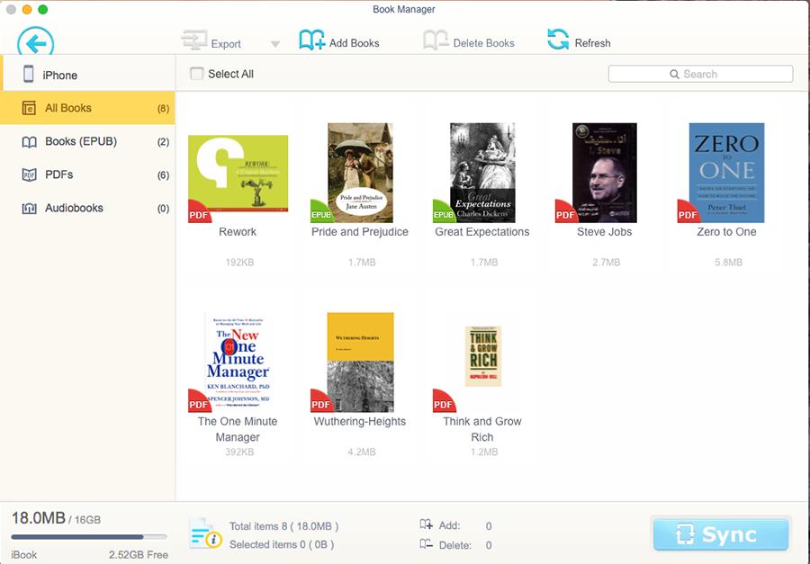 MacX MediaTrans, Audio Software, iPod iPhone iTunes Software Screenshot