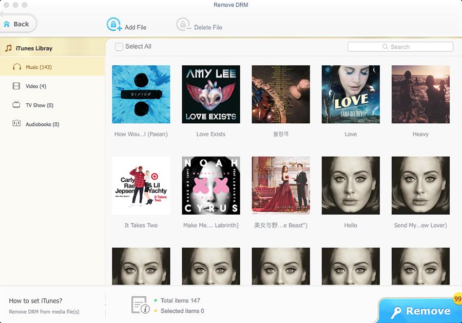 MacX MediaTrans, Audio Software Screenshot