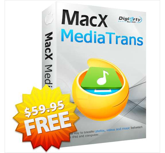 MacX MediaTrans V4.9 (Valued at $59.95) FREE for a Limited Time Screenshot